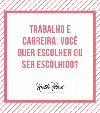 TRABALHO E CARREIRA