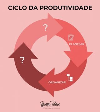 CICLO DA PRODUTIVIDADE: ORGANIZAR.
